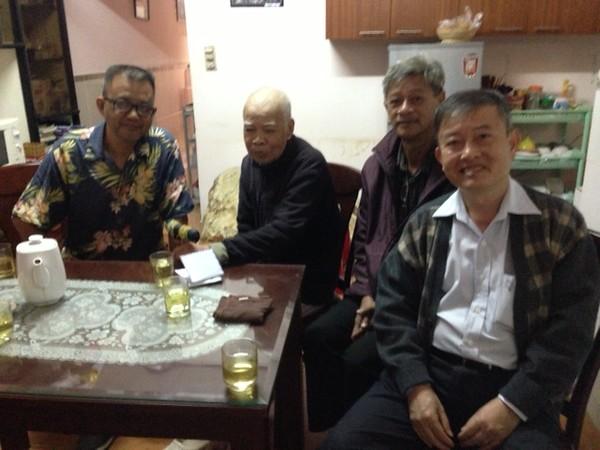 Nguyễn Hoàng Sơn, Thầy Lưu Văn Nguyên, Nguyễn Đình Tài, Phạm Minh Cường