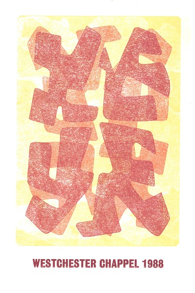 Cover, 1988, Glad Hand Press