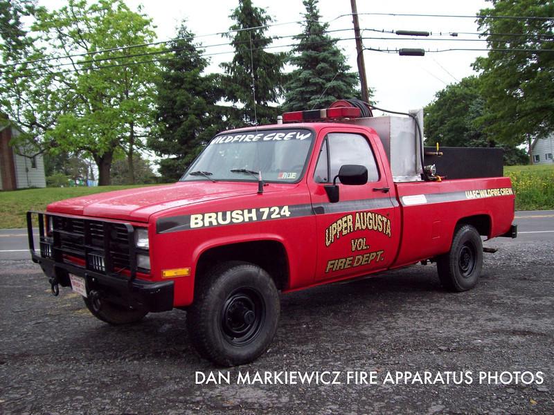 UPPER AUGUSTA FIRE CO. BRUSH 724 1988 CHEVY/UAFC BRUSH UNIT