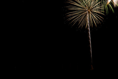 Calistoga Ca Fireworks  4th July 2018
