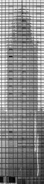 Chrysler Building Reflection - New York, NY, USA - August 18, 2015