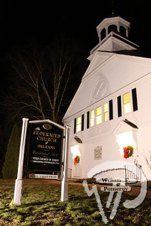 FEDERATED CHURCH — holiday music and sing-a-long. . . handbell and chancel choir — Orleans, MA 12 . 18 - 2009