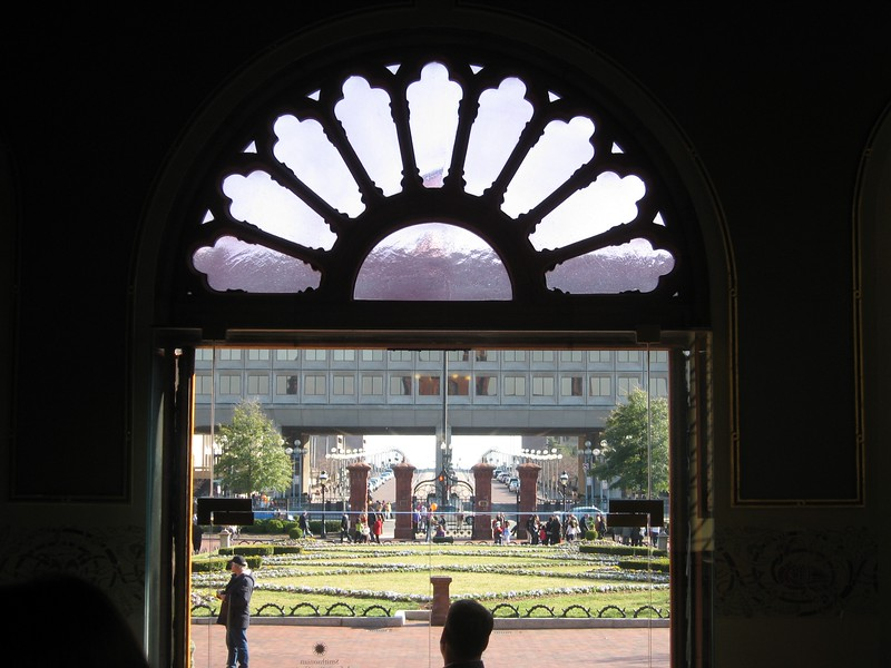 View of the L'Enfant Promenade from the Smithsonian Institution Building (3/13/11)