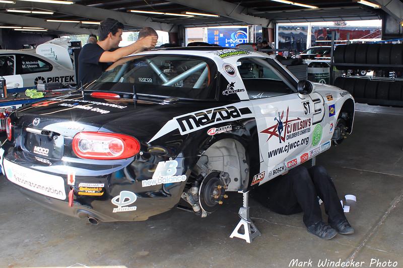 ST-CJ Wilson Racing-Mazda MX-5