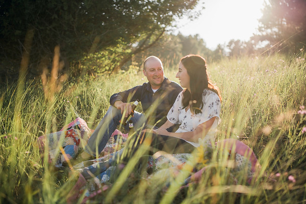 Abby + Travis | Wisconsin Beach Engagement Session