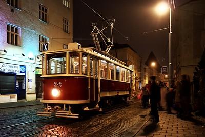Jízda Olomoucí v historické tramvaji