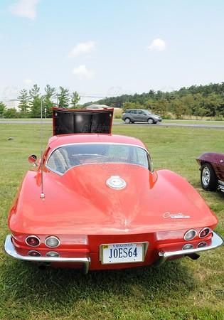 Thunder Meets Lightning, 2008.  All Corvette Show