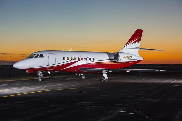 Falcon 2000 N480CF (High Res)
