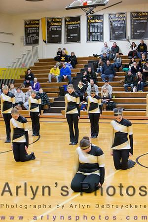 Hutch Danceline Orono Halftime