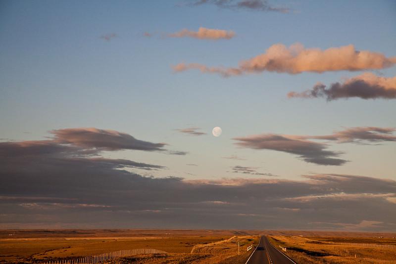 Patagonian moonrise