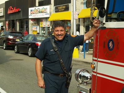 Hackensack, NJ Firefighter Al Carroll