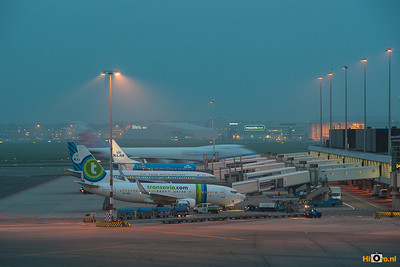 Schiphol By night 2012