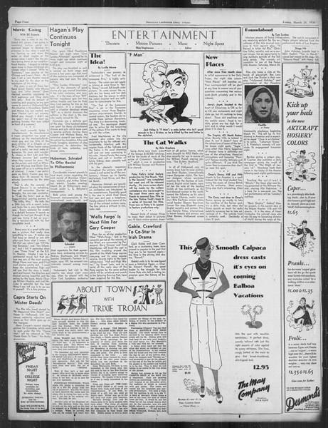 Daily Trojan, Vol. 27, No. 103, March 20, 1936
