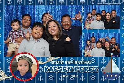 Kaesen's 1st Birthday (Mini Open Air Photo Booth 2)