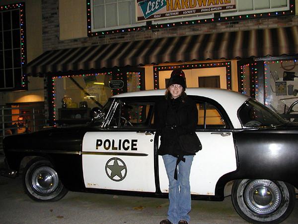 Crystal and Police Car.jpg