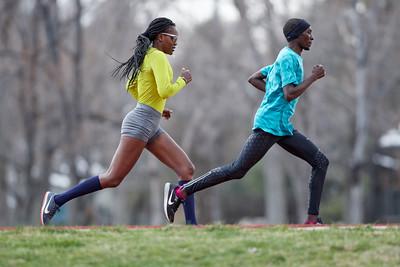 Kenyan runners in Boulder
