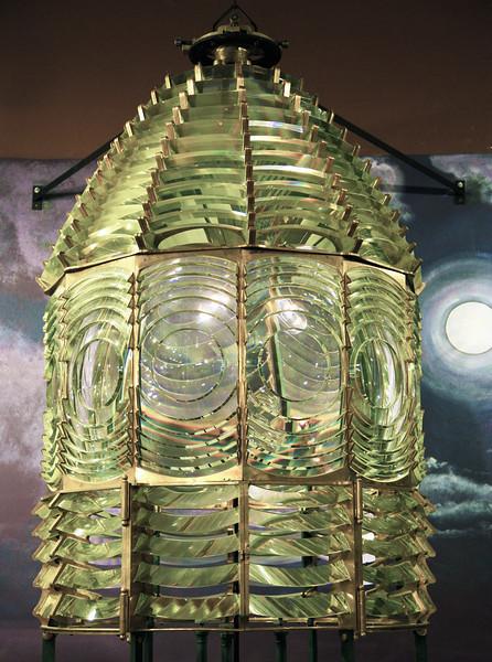 Stannard Rock Fresnel lens -- 2nd order.