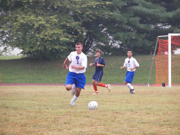 Varsity Soccer vs. Christchurch