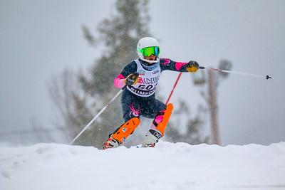 Shootouts Girls: Slalom Second Run