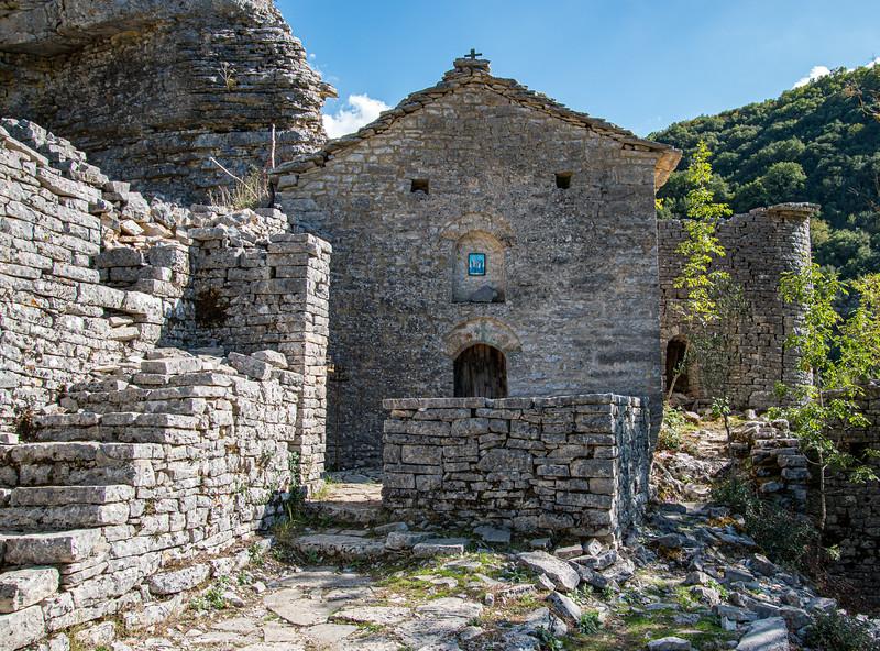 Abandonded Monastery of Agioi Anargyroi