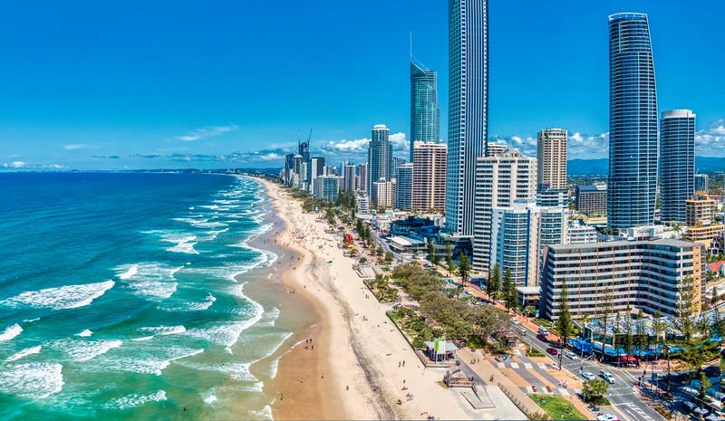 The Gold Coast Panorama