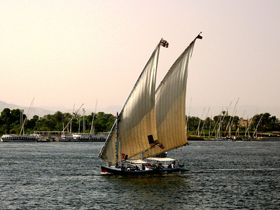 Sights Along the Nile River