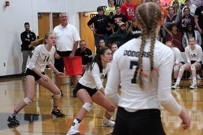 Richland Center @ Dodgeville Volleyball 9-27-18