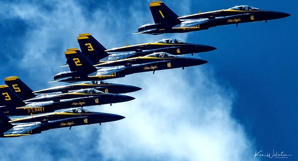 2020 Blue Angels Flyover