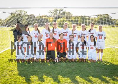WB JV Girls Soccer 2015-2016