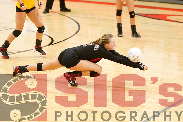 10-15-16 BHS Volleyball vs Greenbrier East