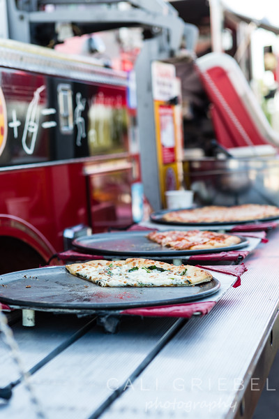 Brookfield Fire Truck Pizza Party