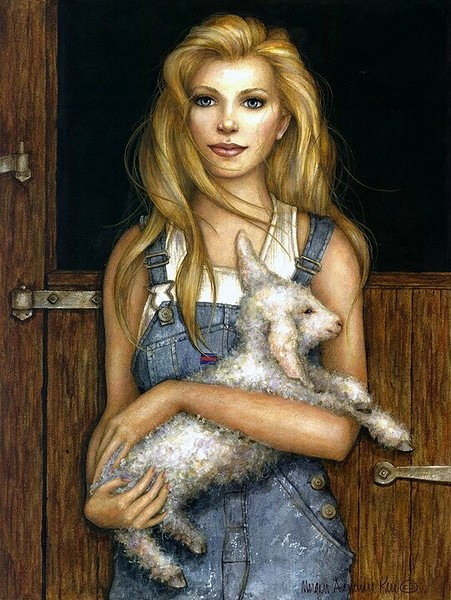 MARY JEAN AND HER LAMB