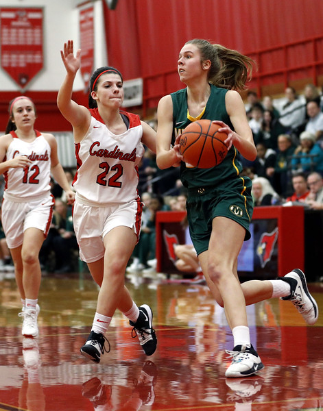 Second half woes lead to loss for Medina girls
