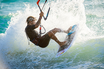 Kitesurfing October 2019 to March 2020