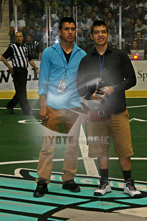 5/31/2014 - NLL Champions Cup Final Game #2 - Calgary Roughnecks vs. Rochester Knighthawks - Blue Cross Arena, Rochester, NY