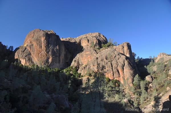 Pinnacles National Monument High Peaks and North Wilderness Loop (11.01.2009)