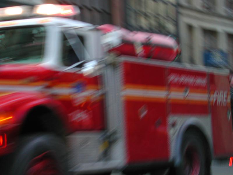 Sirens wailed for days around Ground Zero.