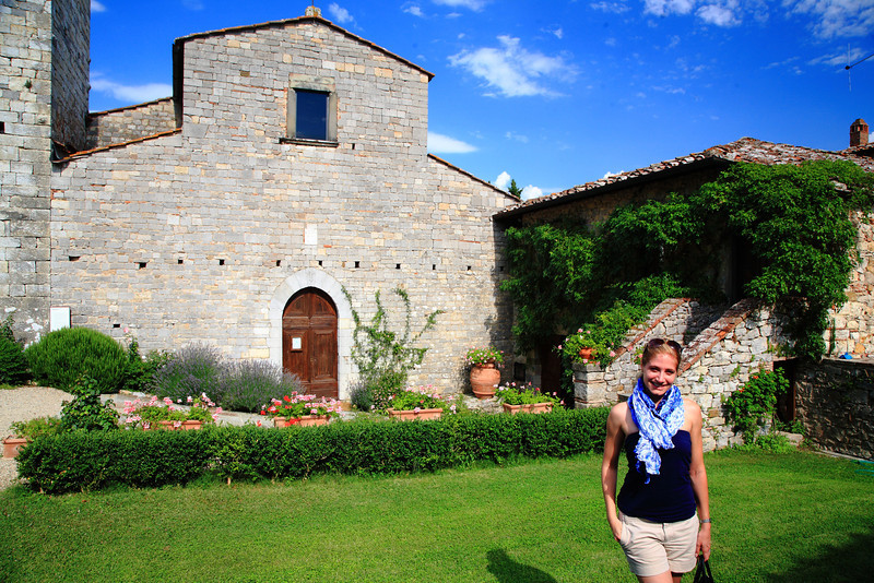 Once a 10th century monastery, Castello di Spaltenna, in Gaiole in Chianti, Tuscany, is now a resort that makes Chicagoans ask why they live in Chicago.