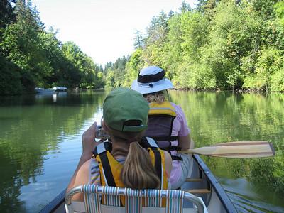 Tualatin River Canoeing