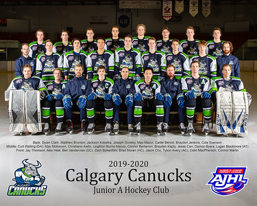 2019/2020 Canucks Roster