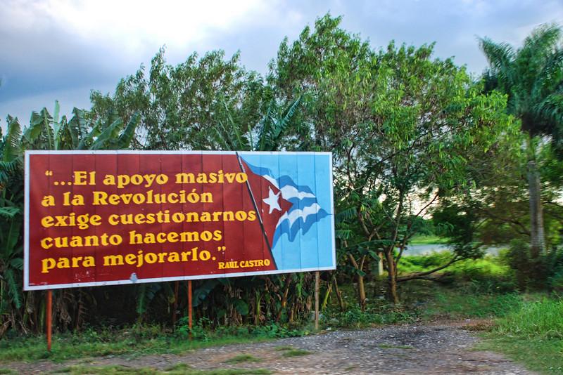 Cuba Castro quote sign 6189.jpg