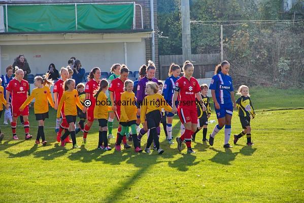 Gillingham Ladies FC V Milton Keynes Dons LFC 23 OCT 2016