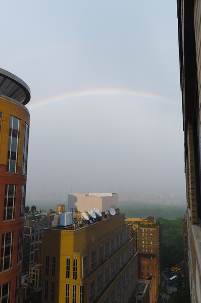 Rainbows over Central Park