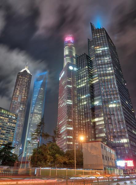 Shanghai at Midnight