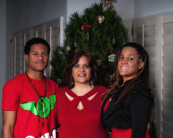 Family Portrait Christmas 2012
