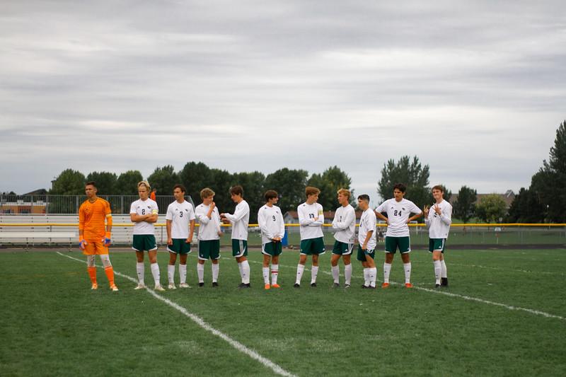 Holy Family Boys Varsity Soccer vs. Hutchinson, 9/26/19