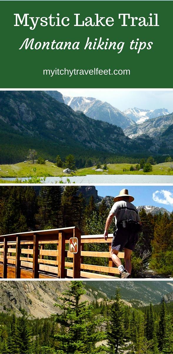 Montana hiking tips for Mystic Lake Trail near Fishtail, MT.