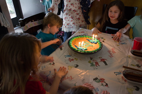 Mason's 7th Birthday
