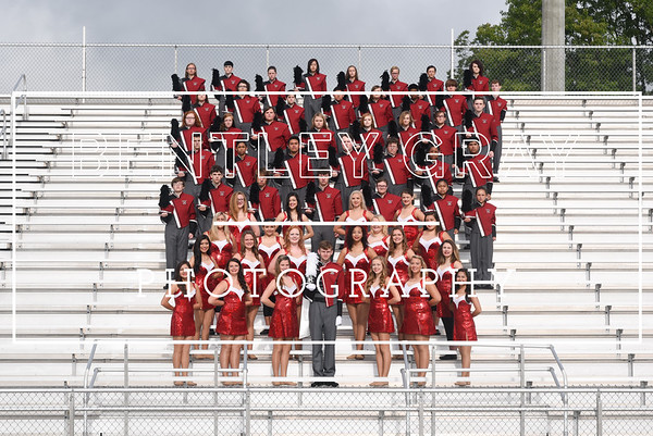 BHS Band Portraits 2016
