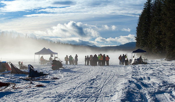 Priest Lake Sled Dog Race 2016